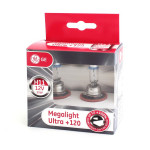 Halogenová žárovka H11 12V 55W Megalight Ultra 120, General Electric