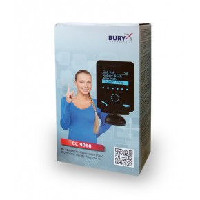 Handsfree bluetooth do auta, Bury, CC9058, pevná montáž