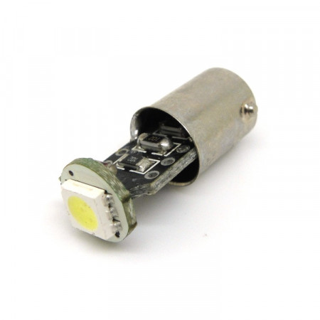 LED žárovka CAN BUS Ba9S, 12V, 1 LED, bílá, Michiba, HL 363