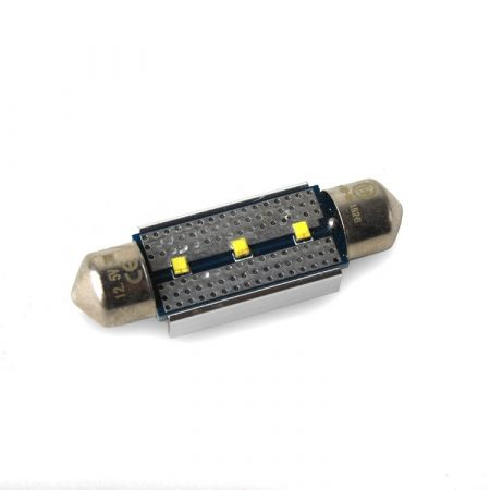 LED žárovka CAN BUS SUFIT 36mm, 12V, 3 LED, bílá, LED 36SUFIT 3-450