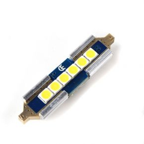 LED žárovka CAN BUS SUFIT 36mm, 12V, 6 LED, bílá, LED 36SUFIT 6-250